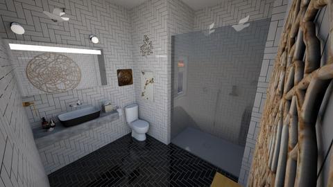Modern Bathroom - Bathroom - by MatthewWilliard41