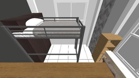 My Room Reno 3 - Modern - Bedroom  - by icelamig