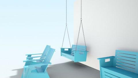 Blue Home - Garden  - by ShinEunY00