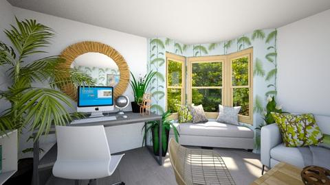 Urban Jungle Office - Office - by tokage