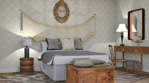 M_ Damask - Bedroom - by milyca8