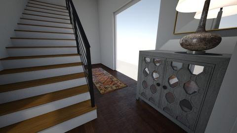 Steel Entryway - Living room  - by Esoeurt
