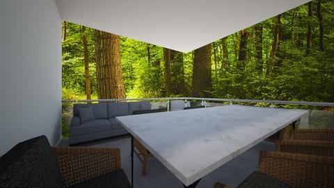 un giardino in balcone - Minimal - by pasticcere