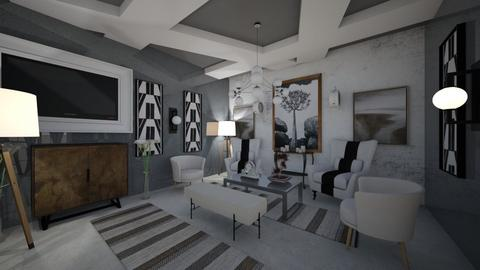 Living Room - Modern - by Nikos Tsokos
