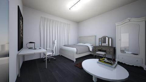 my bedroom - Bedroom  - by Nanozx99