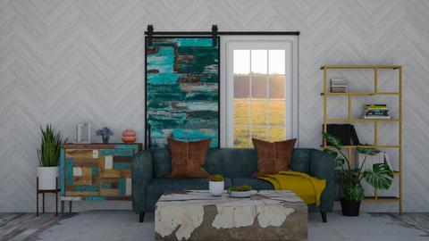 Rustic Colorful  - by SouthernDeco