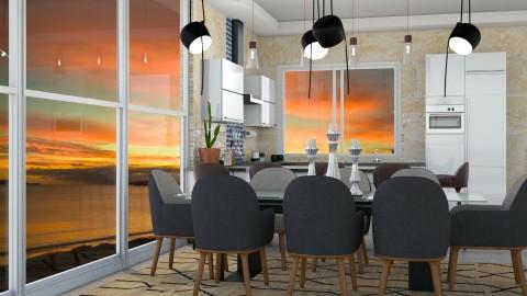 Beetley - Modern - Kitchen - by aletamahi