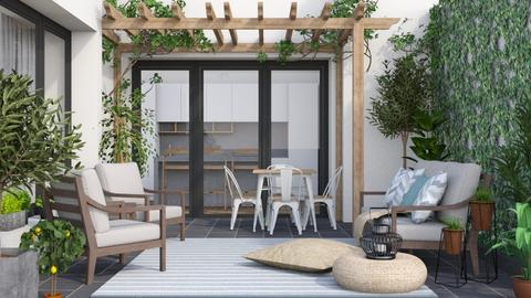 Urban patio - Garden  - by Lizzy0715