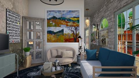 Small comfort - Eclectic - Living room  - by augustmoon