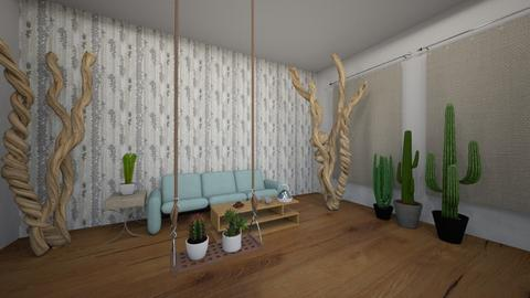 Random Cactus - Country - Dining room  - by 29catsRcool