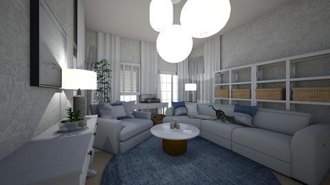 scandinavian - Rustic - Living room  - by Wikkan_97