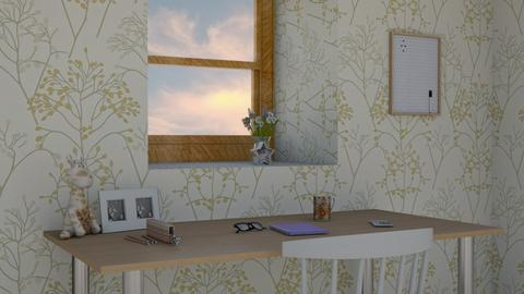 mesa trabajo - Retro - Kitchen  - by Ce Alvarez