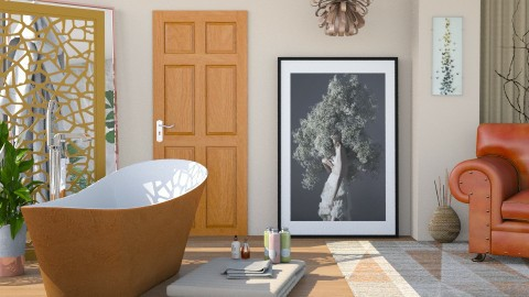 M_Spat - Bathroom  - by milyca8