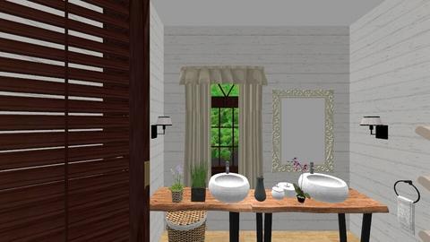 Rustik Bathroom2 - Rustic - Bathroom  - by REBUSI