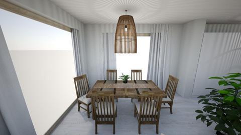 1 - Minimal - Dining room - by Lenamider
