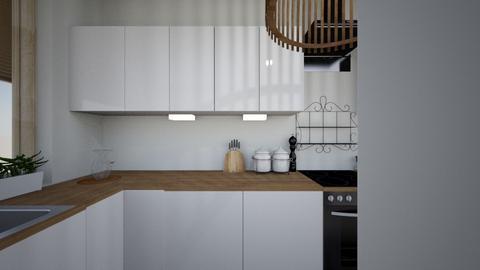 4 - Minimal - Kitchen - by Lenamider