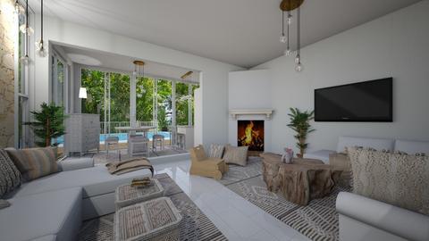 Ibiza Hill Home family - Living room  - by Lisett