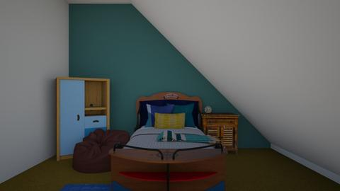 By the sea Bedroom - Bedroom  - by Princapessa10