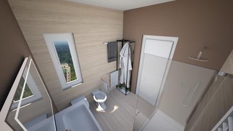Bagno ipotesi 1d - Bathroom - by natanibelung