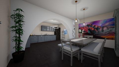 kitchen and diningroom - Kitchen - by Muneesssssss