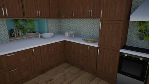 Boho kitchen - Modern - Kitchen  - by matildabeast