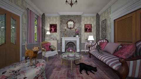 Cat Lady Corner - Living room - by Pirschjaeger