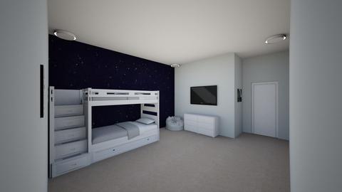 b - Kids room  - by irishsky