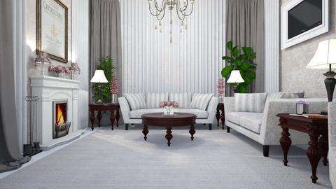 Timeless Elegance - Living room  - by Amyz625
