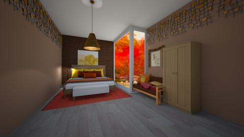 Autumn Morning - Bedroom  - by Destiny H