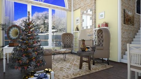 Christmas - Classic - Living room  - by Brubs Schmitt