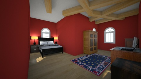 apartment bedroom arik - by IceyCreamy
