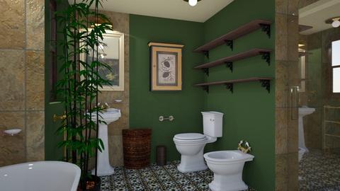 Classic cosy bathroom 4 - Classic - Bathroom - by macus