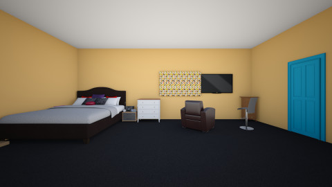 my dream bedroom  - by rachellestylui