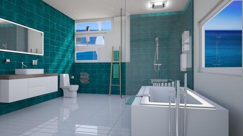 Minty - Modern - Bathroom - by Kathran