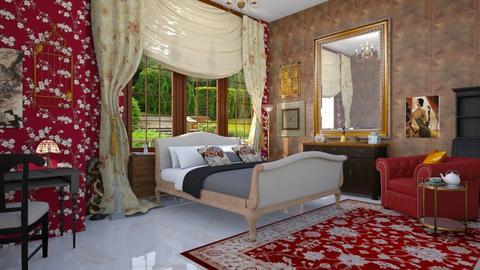 maximalist bedroom - by vagrfd