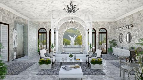 Design 110 Tuscan Villa Bathroom Suite - Bathroom  - by Daisy320