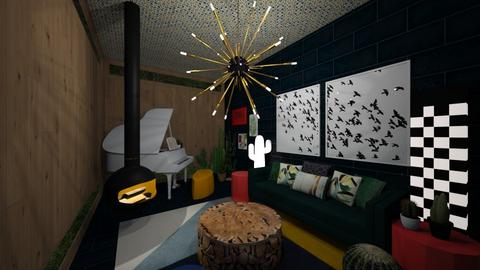 Art Deco Pop Sunroom - by DecoMaster5