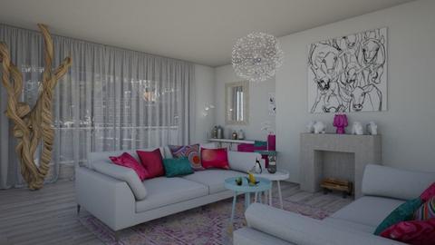 Mod Playful Living - Living room - by JM Krab