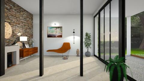 the lonely cedar - Modern - Living room  - by barnigondi