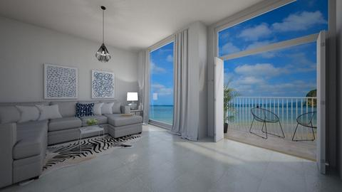 Beach - Living room  - by Bade0