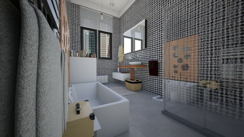 city flat - Bathroom  - by Conchy