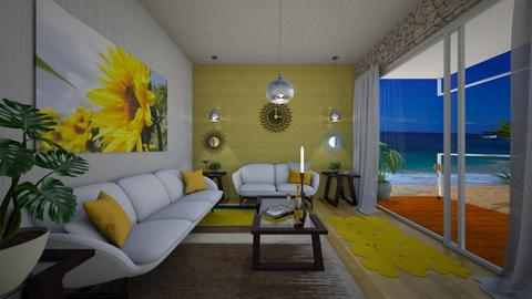sunflower living - Living room  - by allday08