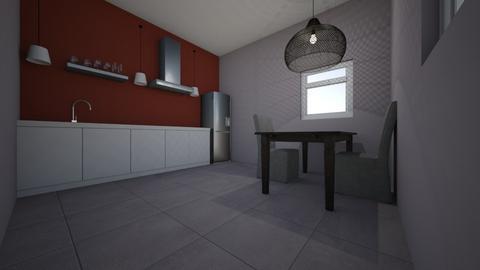 maquette kitchen - Kitchen  - by ddewaal