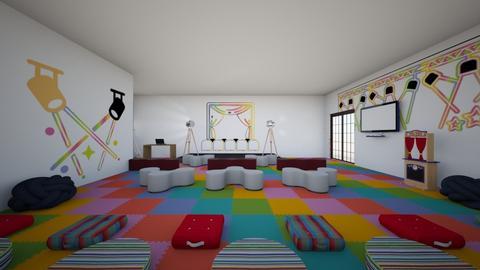 DRAMA ROOM  - Modern - by mauxsal