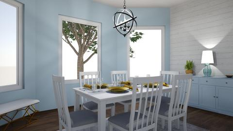 Friday challenge 3 - Dining room  - by amiehall