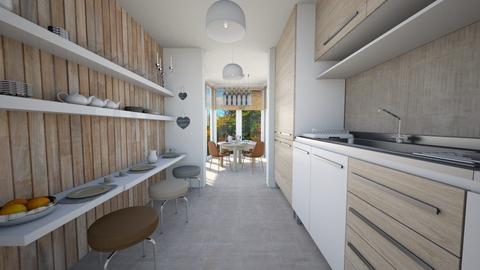Paul_1 - Kitchen - by michaela_sebova