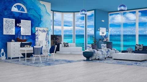 OCEAN BLUE OFFiCE - Office  - by hmm22
