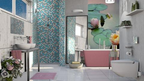 M_ Lily Pond - Bathroom - by milyca8