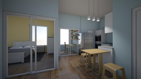 New Condo - Living room  - by Sternschanze