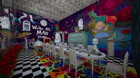 Alice in Wonderland - Vintage - Dining room - by BarcaNumber10
